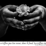 Offrir son Coeur