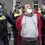 manifestation port du masque arrestation