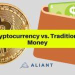 cryptomonnaie numérique versus monnaie fiduciaire papier