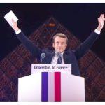 Macron Pyramide Louvre