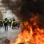 Gilets Jaunes violence politique