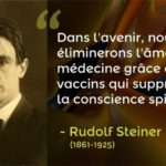 rudolf steiner vaccin